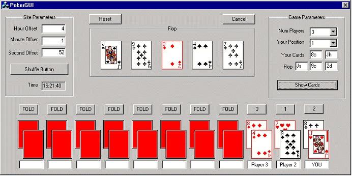 алгоритм онлайн покера