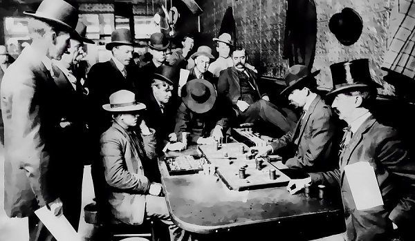A Short History of Poker in Pictures: From Cheaters to Professionals.