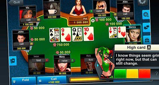онлайн бесплатно покер играть домино
