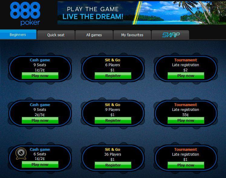 скачать 888 покер на русском