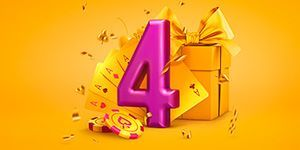 Серия турниров Pokerdom 4 Years Anniversary